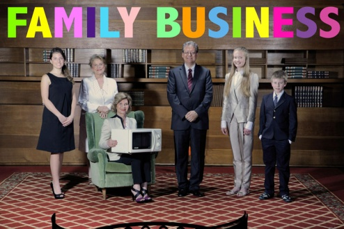 Pop-up галерея Family Business представляет