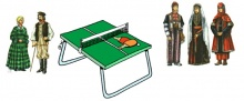 Weekly Table tennis tounaments