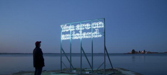 You are (on) an island by Alicia Eggert