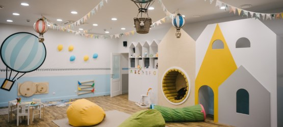 Autumn Semester for children aged 3 to 5 at the Children Talk space.