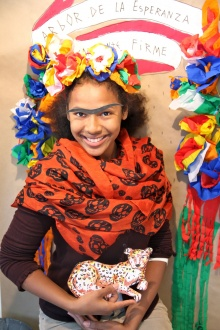 Kids 'Frida Khalo' master-class last weekend